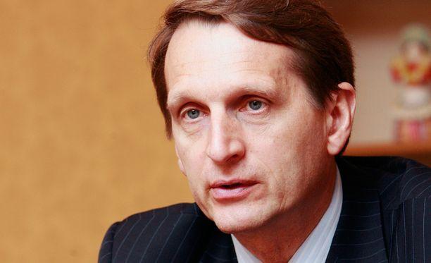 Suomi ilmoitti tiistaina, että se määrää porttikiellon puhemies Sergei Naryshkinille saapua Helsinkiin Etyj-parlamentin kokoukseen.
