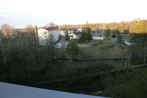 SAIRAALAHÄIRIÖ Lapinlahden sairaala sijaitsee tunnelin suuaukon vieressä.