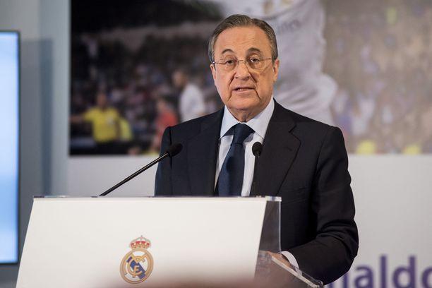 Florentino Pérezin rinnalla Superliigassa seisovat enää FC Barcelona ja Juventus.