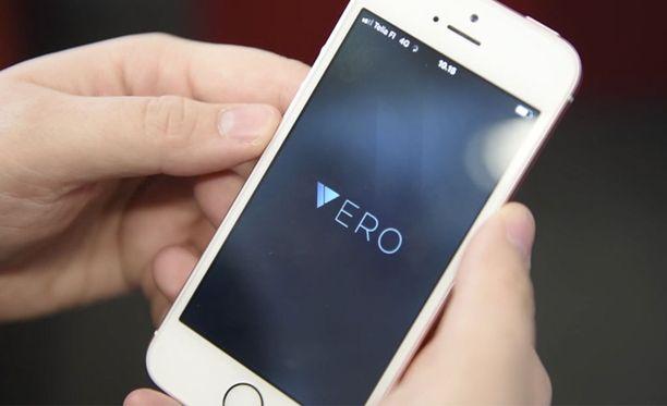 Vero-sovellus on kerännyt pelkästään Google Play -kaupassa yli miljoona latausta.