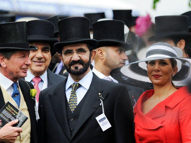 Jordanian prinsessa Haya bint al-Hussein on väitetysti hakenut eroa miehestään. Kuva Britanniasta vuodelta 2013.