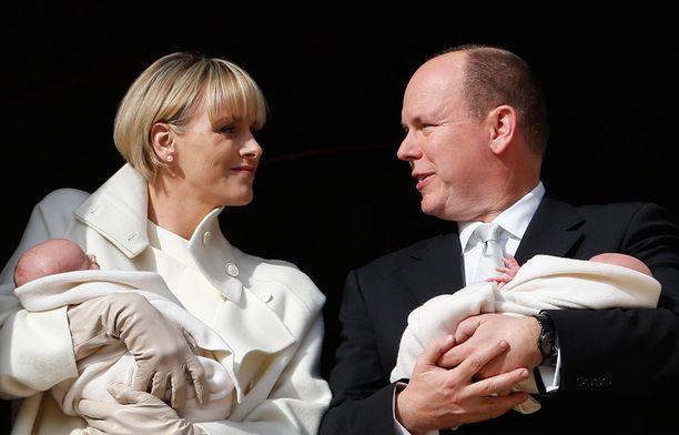 Monacon ruhtinaspari sai kaksoset joulukuussa.