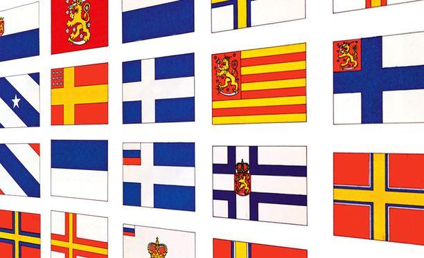 10 punaista lippua vuodelta