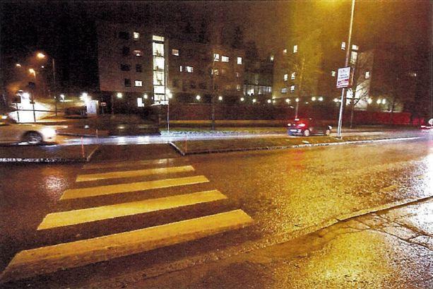 Turma sattui Tuomarilantiellä Espoossa.
