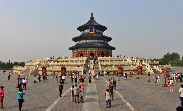 Taivaan temppeli valmistui vuonna 1420. Siellä keisari kävi uhraamassa taivaan jumalille aina 1900-luvun alkuun saakka.
