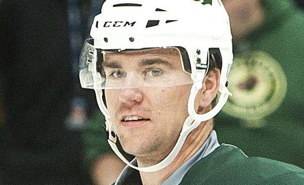Marek Zidlicky kävi syksyllä Suomessa aloittamassa NHL-kauden Minnesotan kanssa.