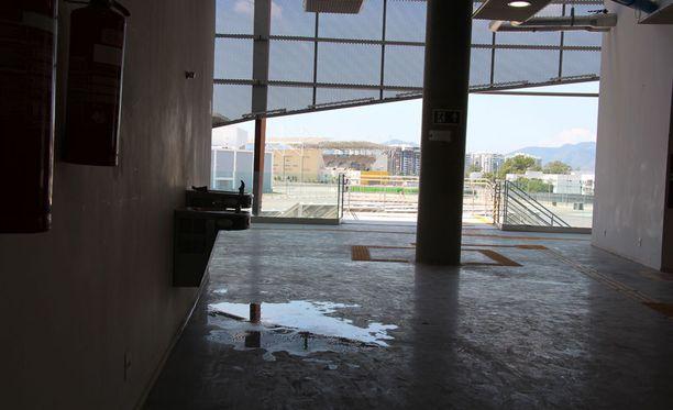 Carioca 1 -areenaa Barran olympiapuistossa ei nyt käytä kukaan.