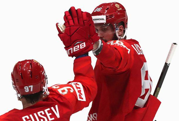 Nikita Kutsherov nakutti Norjaa vastaan heti huipputehot.