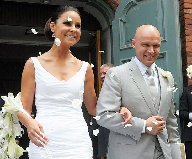 Karita ja Petri Tykän häistä on seitsemän vuotta.
