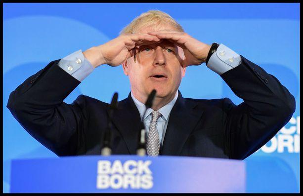 Häämöttääkö siellä pääministerin paikka? Boris Johnson on ehdoton ennakkosuosikki Britannian seuraavaksi johtajaksi.