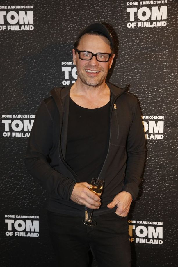 Teuvo Loman helmikuussa 2017 Tom of Finland -elokuvan kutsuvierasnäytöksessä.