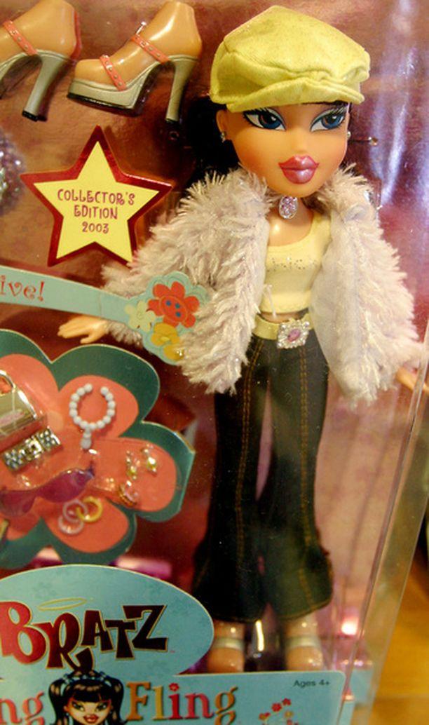 Bratz-nuken mittasuhteet ovat herättäneet aikuisissa kummastelua.