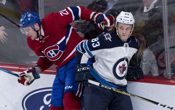 Sami Niku on pelannut tammikuussa jo viidessä NHL-ottelussa.