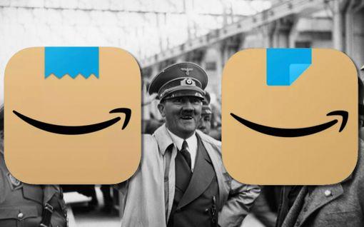 """Amazon uudisti """"Adolf Hitleriltä näyttäneen"""" logonsa"""
