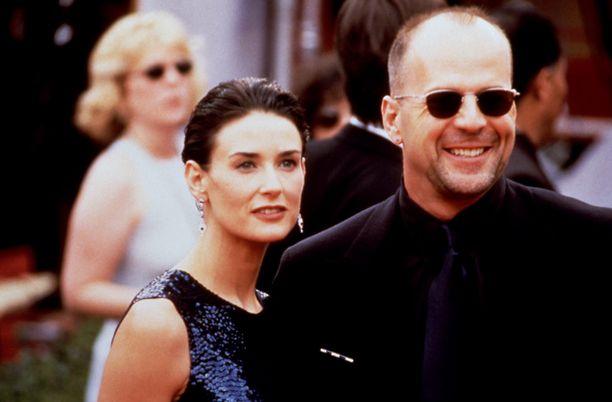 Demi Moore ja Bruce Willis olivat naimisissa vuodet 1987-2000.