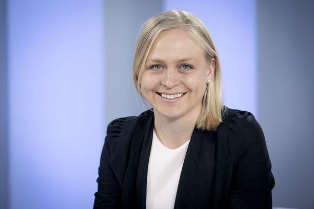 Kokoomuksen kansanedustaja Elina Lepomäki.