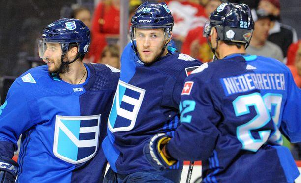 Euroopan yhdistelmäjoukkue pelaa World Cupin finaalissa Kanadaa vastaan.