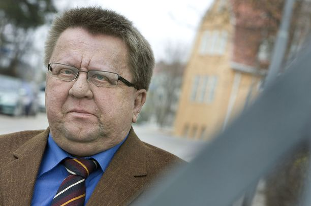 Pekka Hyvärinen kuvattuna vuonna 2008, jolloin hänet valittiin Julkisen sanan neuvoston puheenjohtajaksi.