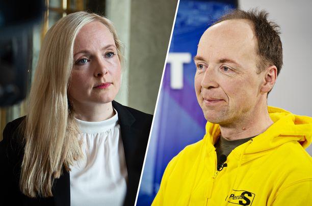 Helsingin Sanomien kesäkuisen gallupin nousijoita ovat Maria Ohisalon johtama vihreät ja Jussi Halla-ahon perussuomalaiset.