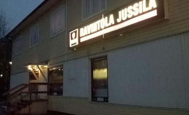 Ravintola Jussilan rakennus on vanha kauppa.