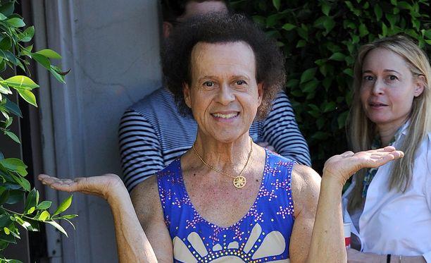 Richard Simmonsin ei tarvinnut jäädä sairaalaan pitkäksi aikaa.
