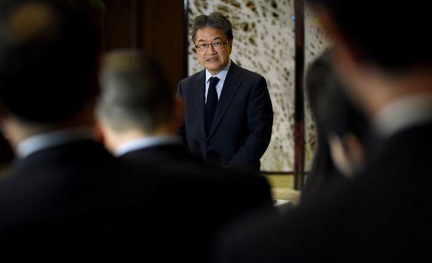 Neuvottelija Joseph Yun.