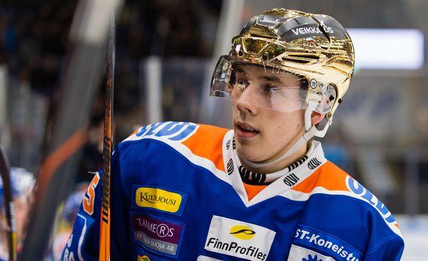 Henrik Haapala sai vihdoin maalitilinsä auki pudotuspeleissä.