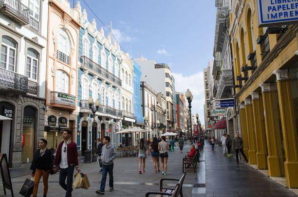 Gran Canarian Las Palmasista löytyy huimasti ostosmahdollisuuksia.