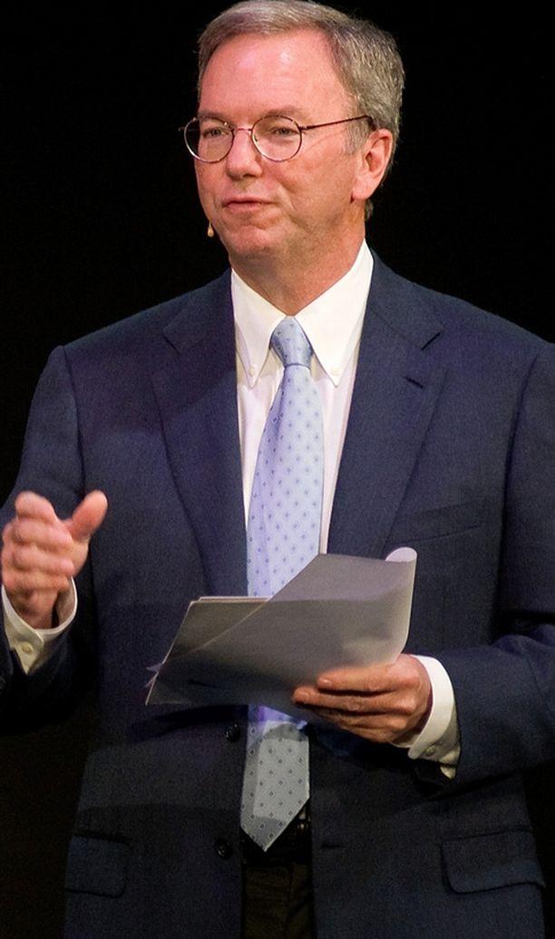 Eric Shmidt puhui Mobile World -kongressissa Barcelonassa