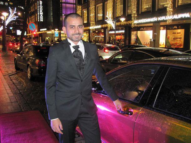 Rami Jaber Al Hussein pitää auton mielellään itsellään.