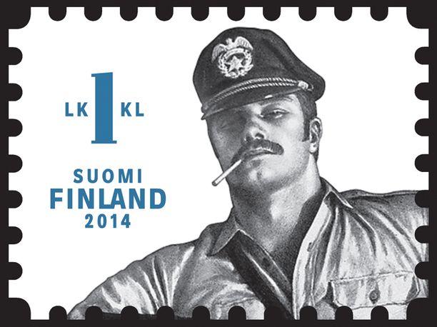 Itellan Tom of Finland -postimerkit mainittiin myös ohjelmassa.