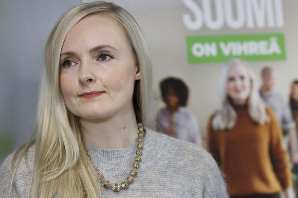 Puheenjohtaja Maria Ohisalo avasi vihreiden kuntavaalikampanjan tammikuun lopussa.