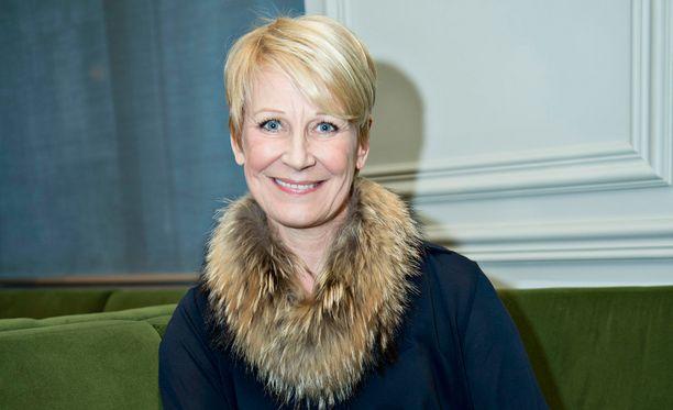 Leena Harkimo on jo palautunut Huippujengin rankoista kuvauksista.