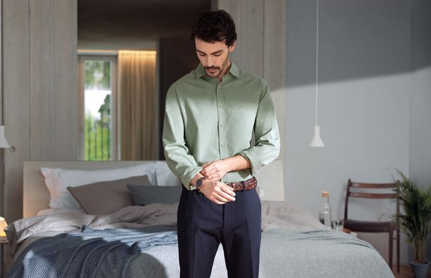 Pesukoneen höyrytysohjelma raikastaa vaatteet nopeasti ja vähentää niiden ryppyisyyttä.