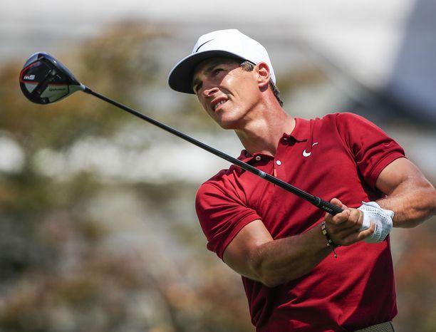 Thorbjorn Olesen golfasi kuun vaiheessa Yhdysvalloissa.