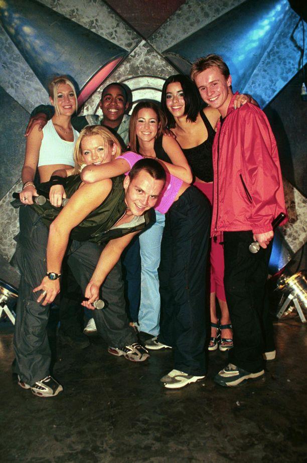 S Club 7 oli toiminnassa vuosina 1999-2003.