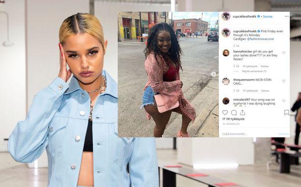 Flow-keikkansa peruuttanut Cupcakke löytyy Instagramista nimimerkillä cupcakkeafreakk. Korvaajaksi tuleva Tommy Genesis nähtiin New Yorkin muotiviikoilla viime helmikuussa.