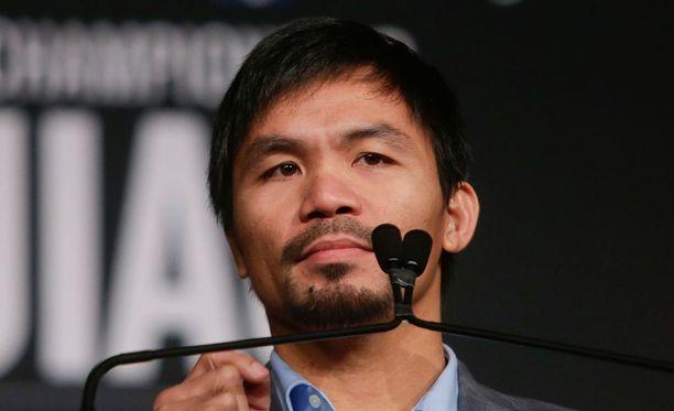 Manny Pacquiao menetti sponsorin möläytyksensä takia.