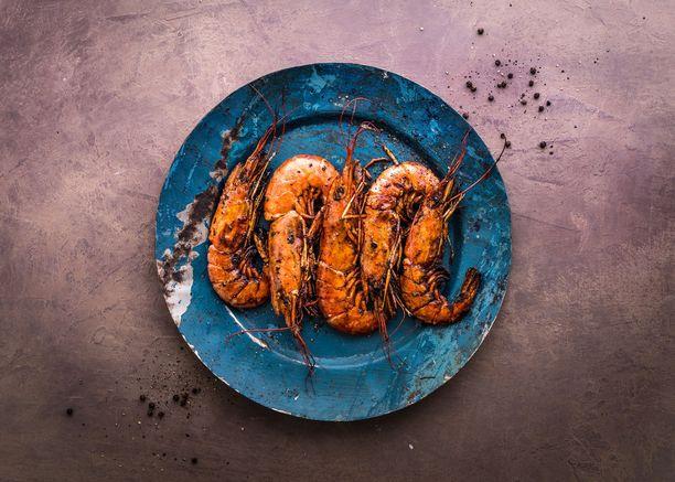 Katkaravut sopivat mainiosti grilliin ja tekevät ateriasta astetta ylellisemmän.