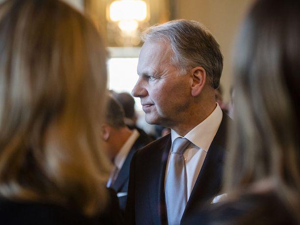 Maa- ja metsätalousministeri Jari Leppä kertoo, että keskusta tekee Itä-Savon asemasta hallituskysymyksen. Arkistokuva.