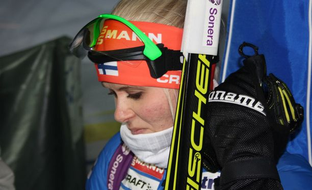Mari Laukkanen keskeytti torstaina ja oli lauantaina sijalla 69 Östersundin maailmancupissa.