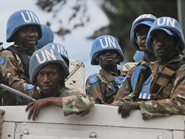 Seitsemän rauhanturvaajaa sai surmansa ja kymmenen loukkaantui sotilasoperaatiossa Kongon demokraattisessa tasavallassa. Kuvituskuva.