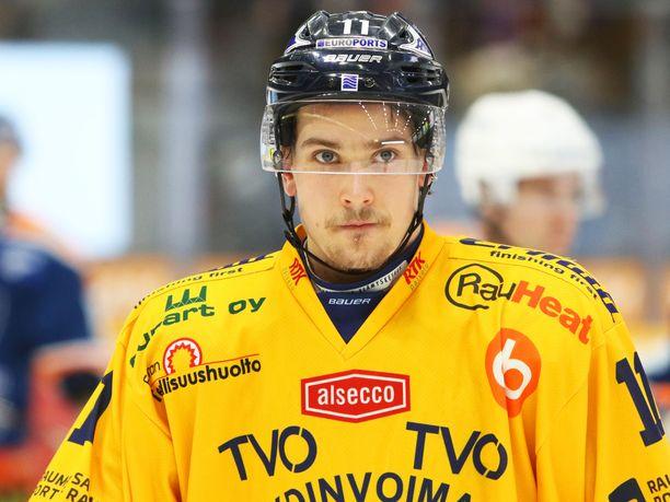 Tarmo Reunanen oli Lukon parhaita pakkeja päättyneellä kaudella.