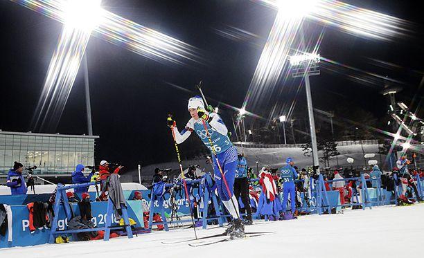 Tero Seppälä aloitti olympiaurakkansa vauhdikkaasti.