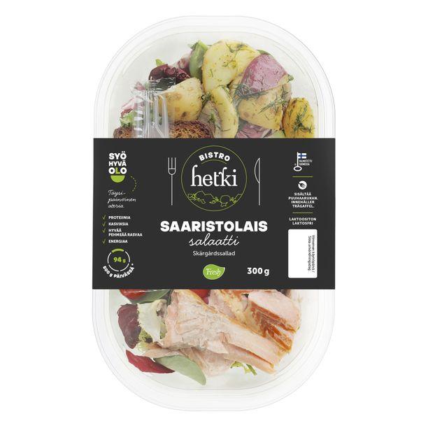 Salaatti, joka maistuu kesältä, savulta, sitruunalta sekä lähdeveden raikkaalta. Sukella uudestaan kesän tunnelmaan.