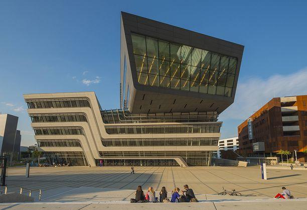 Wienin yliopiston kirjasto.