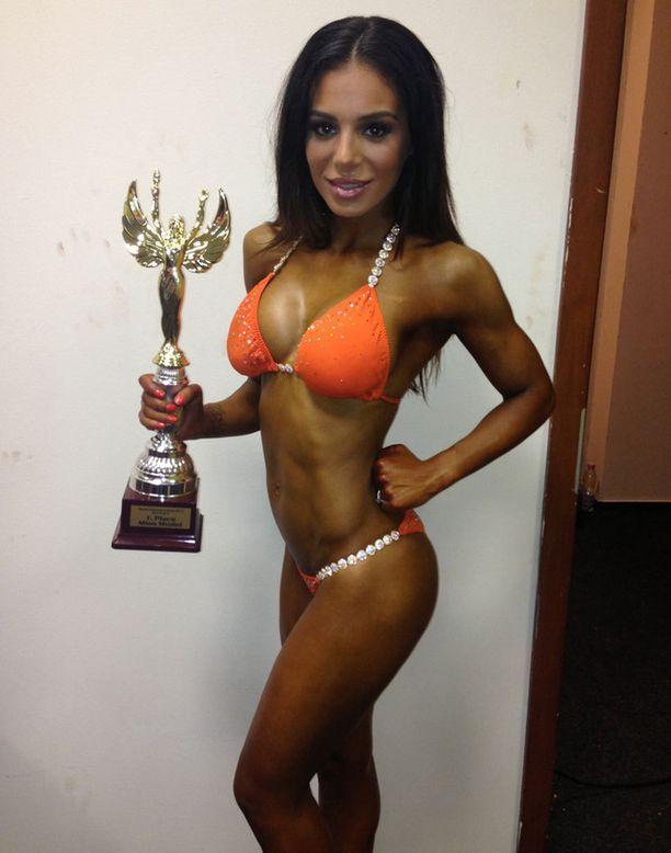 Sofia nappasi voiton WABBA-liiton kansainvälisissä Bikini Fitness -kisoissa sunnuntaina.