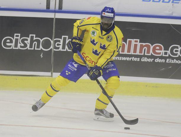 Edwin Hedberg on pelannut Ruotsin maajoukkueessa.