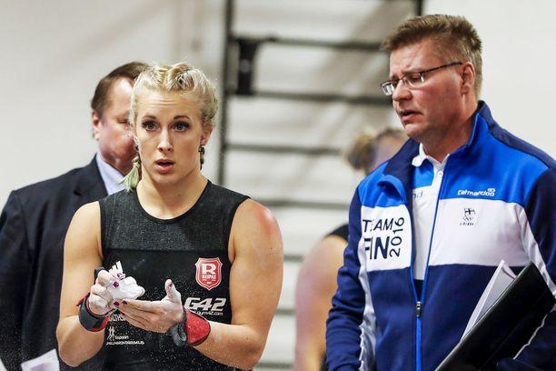 Anni Vuohijoki kisaa seuraavan kerran seurajoukkueiden SM-kisoissa marraskuussa. Vuohijokea valmentaa Mika Tiainen.