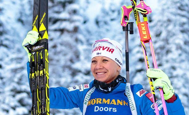 Kaisa Mäkäräinen kisaa kaikella todennäköisyydellä viimeiset olympialaisensa.